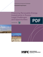 Financing Renewable Energy Investments in Russia