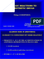 Allergic Reactions to Anaesthetic Drugs[1]