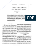 Acoustic and Optical Methods for Measuring (1)