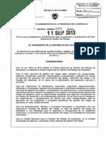 Decreto 1974 11-09-13