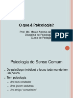 O que é psicologia (1)