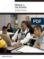 The Research Alliance for NYC Schools Brochure