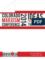 Colorado Marxism Conference 2014 Program