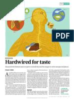 Hardwired for Taste