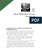 Alp ApE Open Publication License