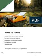 Shower Presentation Mozilla