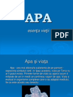 Apa -Grupa Verde- Andrei Rapcea Cl a VIII a C