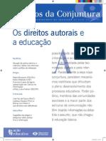 Os direitos autorais e a educação2011