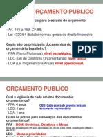 FICHAS - ORÇAMENTO PUBLICO