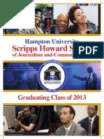 2013 Graduation Program