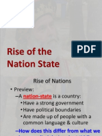 rise of the nation state