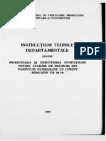 CD -29 Fundtii Din Pamanturi Stabilizat Cu Ciment