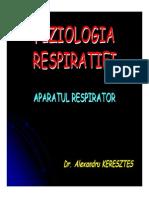 Cursul 10 Fiziologia Respiratiei