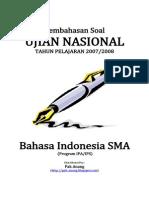 Pembahasan Soal UN Bahasa Indonesia SMA 2008