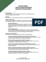 Korte Samenvatting Richtlijnen DR