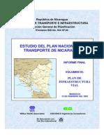 Estudio Del Plan Nacional de Transporte en Nicaragua - Plan de Infraestructura Vial (Vol.9)