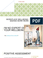 Workplace Wellbeing Making Work Work