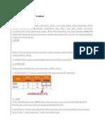 Rumus Rumus Excel 2007 Lengkap