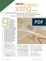 VPMFM06 Guide Pattern Grading