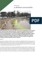 Protección para defensas ribereñas zona La Pastora