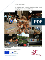 Booklet - Methods, Activities and Research Results of the Youth Exchange, Youth Unemployment