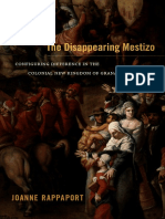 The Disappearing Mestizo by Joanne Rappaport