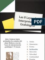 Las 8 Leyes de Interpretación Grafológica