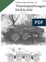 panzer tracts 24 - sdkfz 234 schwerer panzerspähwagen