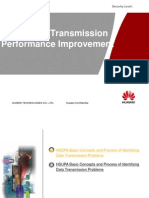 UMTS HSPA DataTransmission Performance Improvement