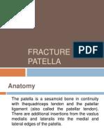 Fracture of Patella