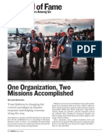 One Organization, Two Missions Accomplished