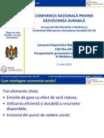 Rio+20 - Consultations_Green Economy_RO