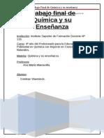 Trabajo Final de Quimica y Su Ensenianza CombustiblesVlaemick