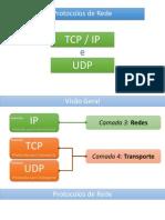 Protocolos TCP IP UDP
