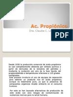 Ac. Propionico