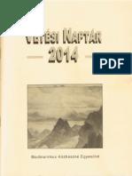 Vetési naptár 2014