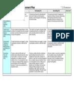 EDUC6814 Learning Enivronment Plan Rubric