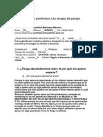 Encuesta Preliminar a La Terapia de Pareja (1)