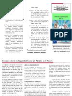 Brochure de La Semana de La Seguridad Social