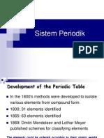 Sistem Periodik (VI)
