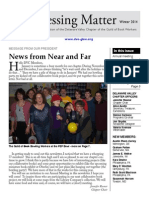 DVC-GBW Winter 2014 Newsletter