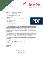 CPNI Annual Certification 2014