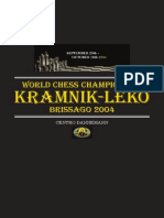 World Chess Championship Kramnik-leko Brissago 2004