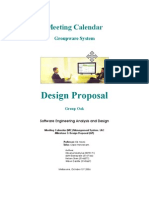 Software Engineering Analysis and Design