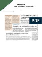 Fondo immobiliare UIU - Offerta acquisto fondi immobiliari