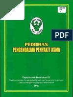 Buku Pedoman Asma, Depkes RI