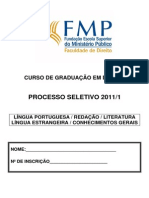Prova Vestibular 2011-1(4)