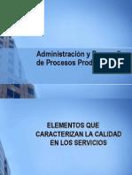 Administración y Desarrollo de Procesos