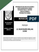 MICROECOMIA Oscar Eduardo Orellana-CPA