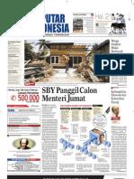 EPaper Harian Seputar Indonesia 12 Oktober 2009